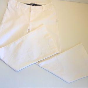 SPORTSGIRL sz 8 mid rise white wide leg pant